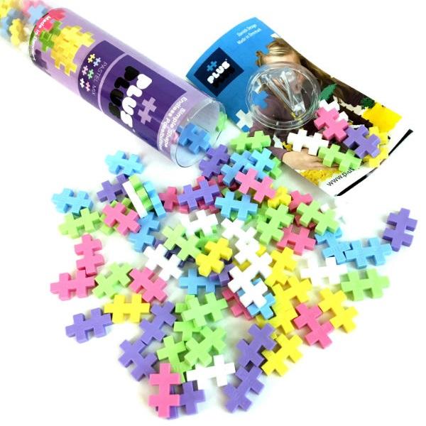 Plus Plus 4025 Разноцветный конструктор для создания 3D моделей.jpg