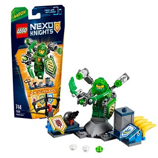 Лего Нексо Аарон – Абсолютная сила 70332