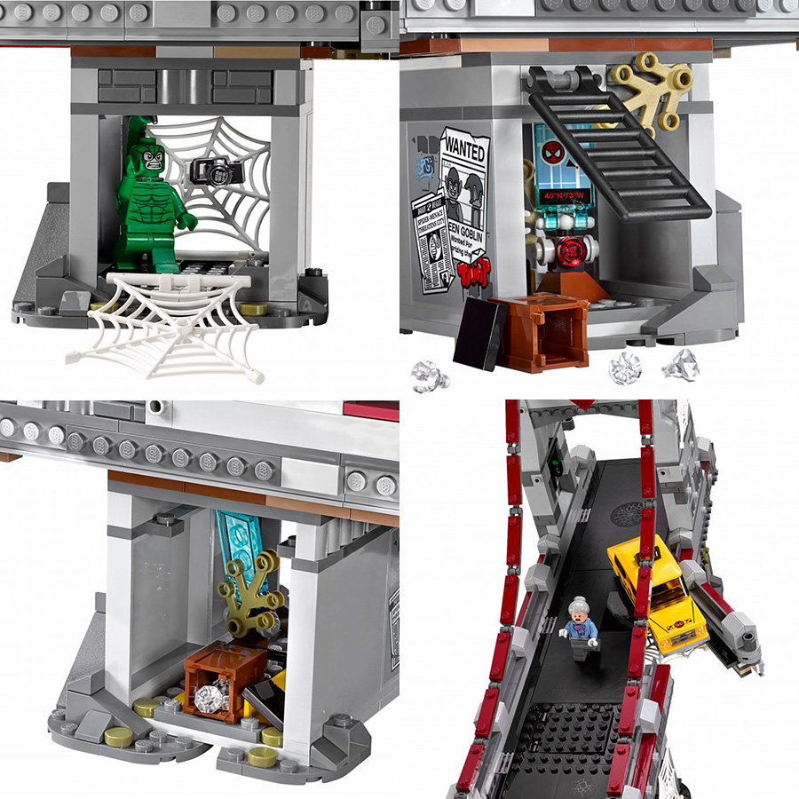 Lego Super Heroes 76057 Лего Супер Герои Человек-паук: Последний бой воинов паутины