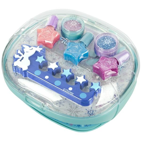 Markwins 9606951 Frozen Набор детской декоративной косметики с сушкой лака