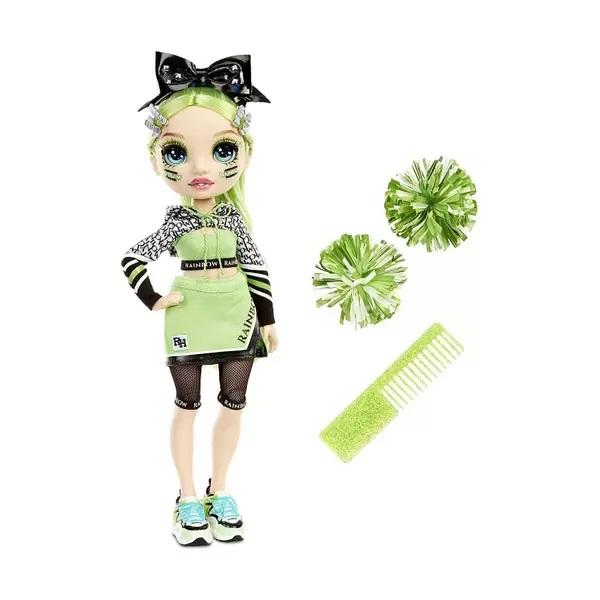 Rainbow High 572060 Кукла Cheer Doll- Jade Hunter (Green)
