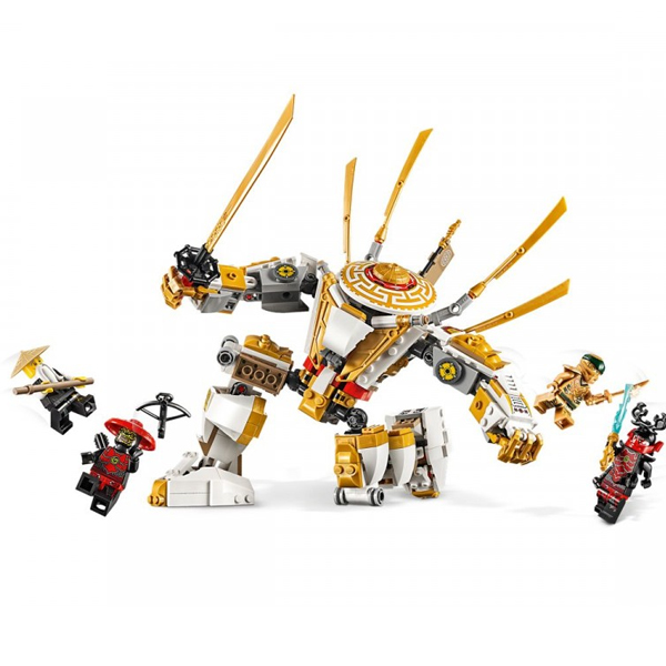LEGO Ninjago 71702 Конструктор ЛЕГО Ниндзяго Золотой робот