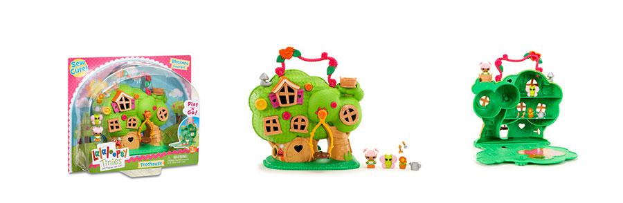 Игровой набор Lalaloopsy Tinies 532958 Малютки Домик на дереве