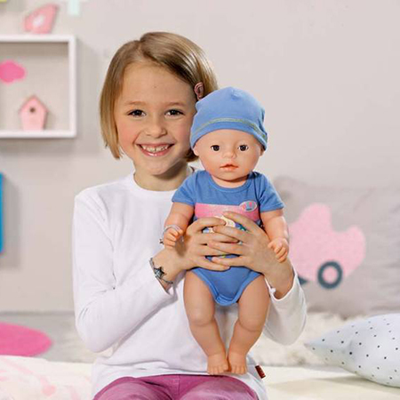 Интерактивная Кукла-мальчик Zapf Creation Baby born 820-445 Бэби Борн, 43 см