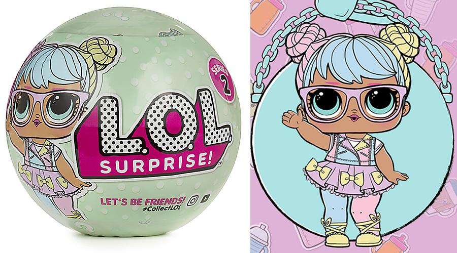 LOL 548843 Кукла-сюрприз в шарике 2 серия