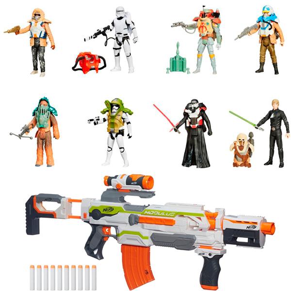 Hasbro Star Wars B3886N Звездные Войны Фигурка 10 см с оружием + фигурка Звездных войн 9,5 см
