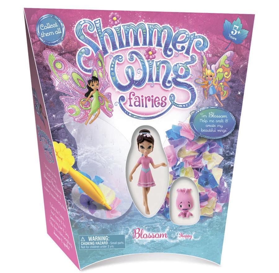 Кукла Фея Букетик Shimmer Wing упаковка