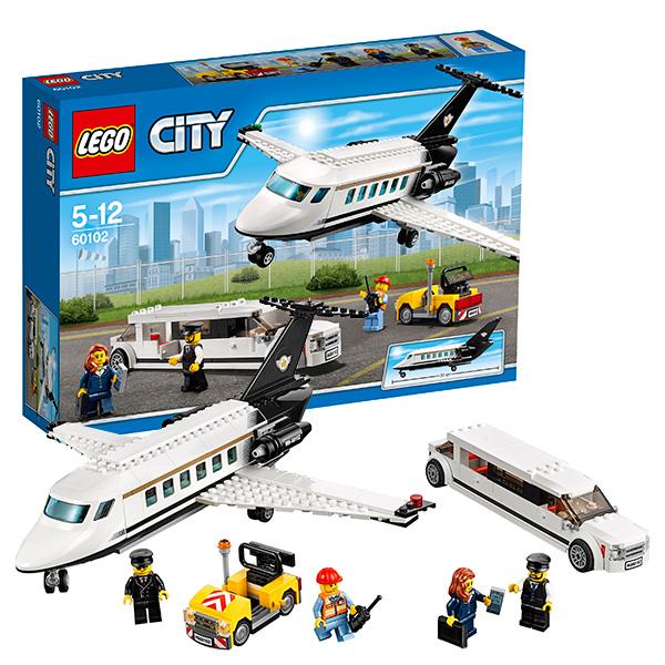 Lego City 60102 Лего Сити Служба аэропорта для важных клиентов