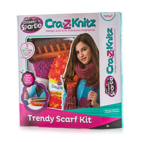 Cra-Z-Knitz 17121 Крейзи Нитс Набор для вязания Шарф