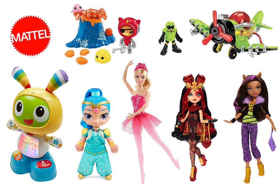 Игрушки Mattel в интернет-магазине для детей TOY.RU