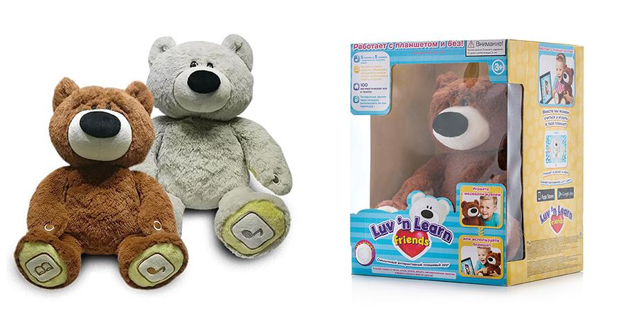 Интерактивные медведи Luv`n Learn купить на TOY.RU