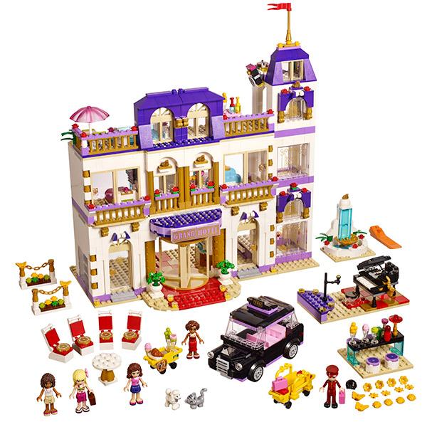 Конструктор Lego Friends Heartlake Grand Hotel 41101 Лего Подружки Гранд Отель в Хартлейк Сити