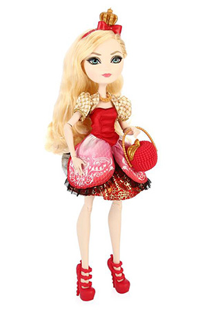 Ever After High BBD52 Эппл Уайт