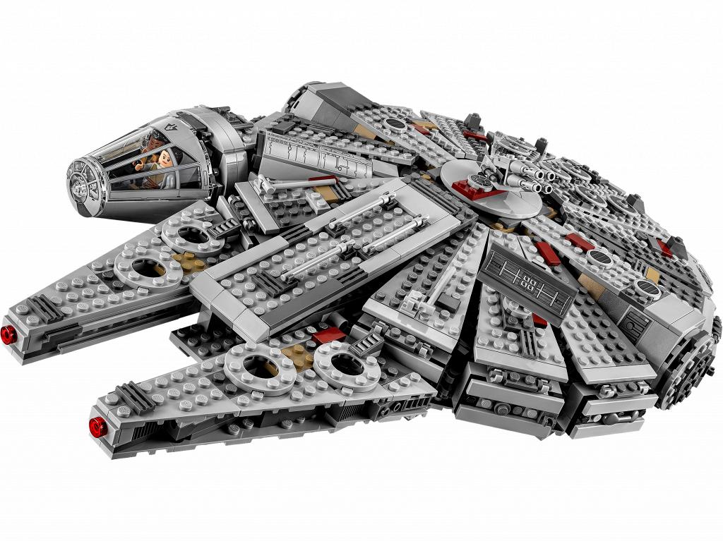 Лего Звездные Войны новый Сокол Тысячелетия