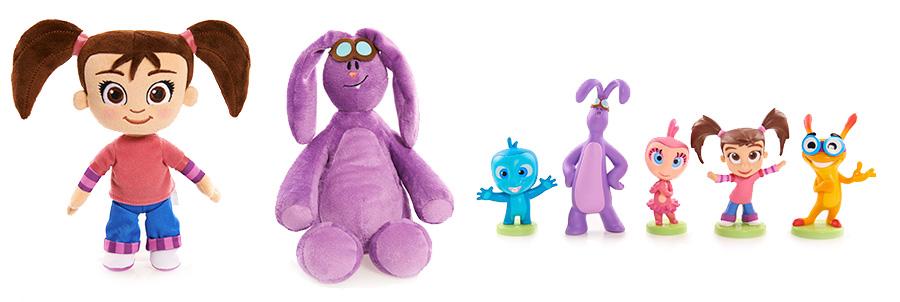 Игрушки Катя и Мим-Мим
