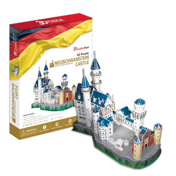 3D пазл Cubic Fun MC062h Замок Нойшванштайн (Германия)