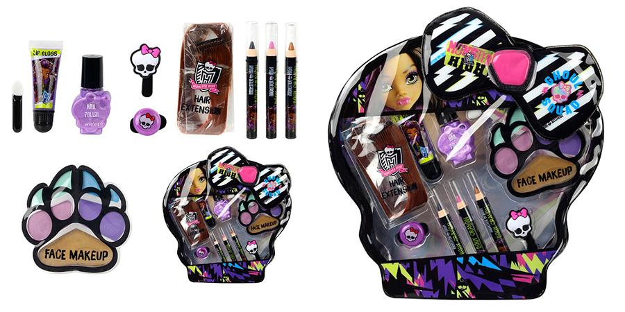 Markwins 9706351 Monster High Игровой набор детской декоративной косметики Clawdeen