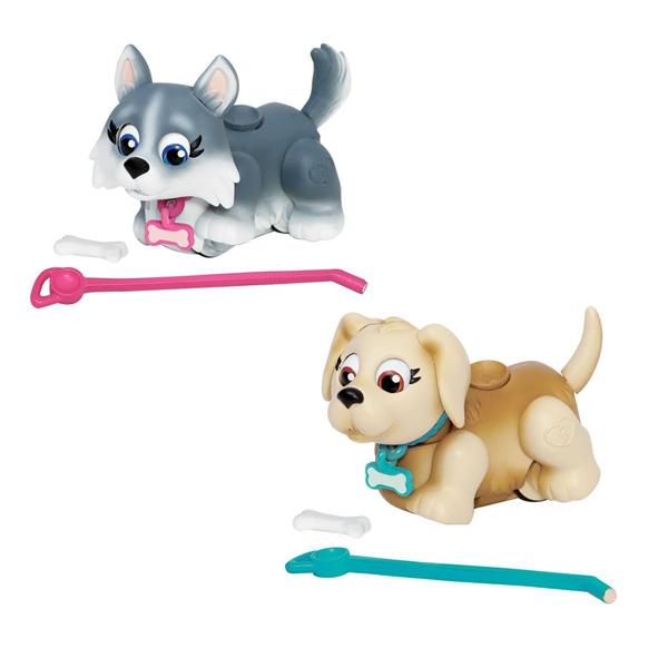 Pet Club Parade 18548 Пет Клаб Парад Фигурки собачек с косточками и поводком, в ассортименте
