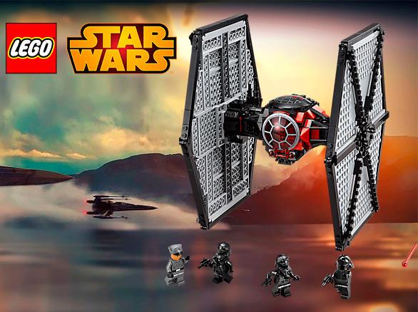 Lego Star Wars 75101 Истребитель особых войск Первого Ордена