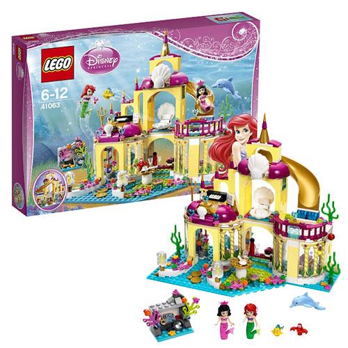 Лего Принцессы Дисней Подводный дворец Ариэль 41063