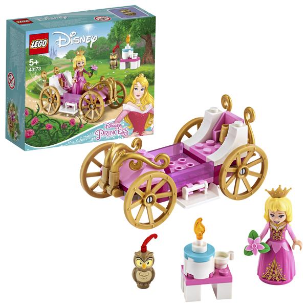 LEGO Disney Princess 43173 Конструктор ЛЕГО Принцессы Дисней Королевская карета Авроры
