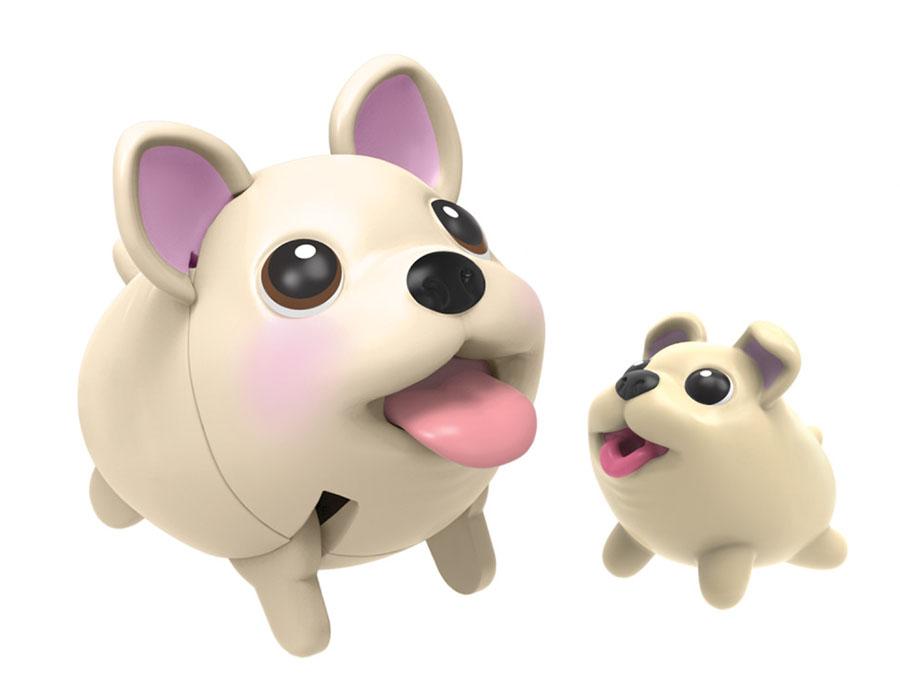 Chubby Puppies 56726-t Упитанные собачки Игровой набор Паровозик