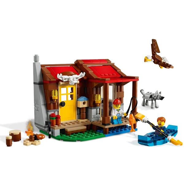 LEGO Creator 31098 Конструктор ЛЕГО Криэйтор Хижина в глуши