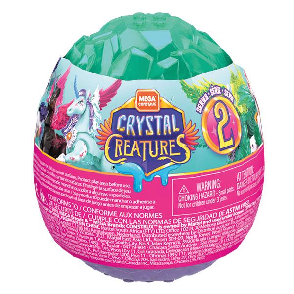 Mattel Mega Bloks GLK07 Mega Construx Хрустальные существа в яйце (в ассортименте)