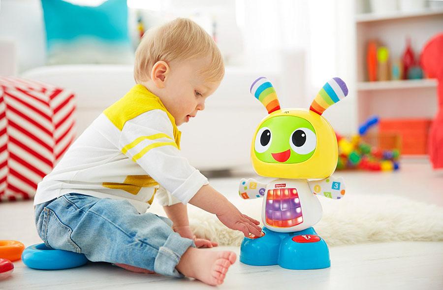 Fisher-Price DJX26 Фишер Прайс Обучающий робот Бибо