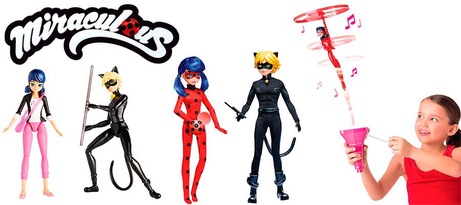 Игрушки Леди Баг и Суперкот - Lady Bug