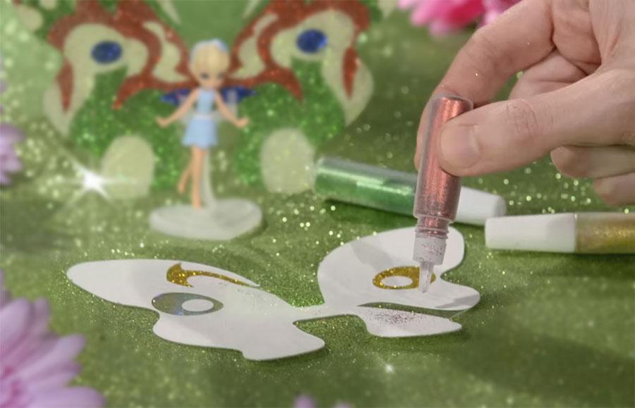 Кукла Фея Тюльпан Shimmer Wing декорирование