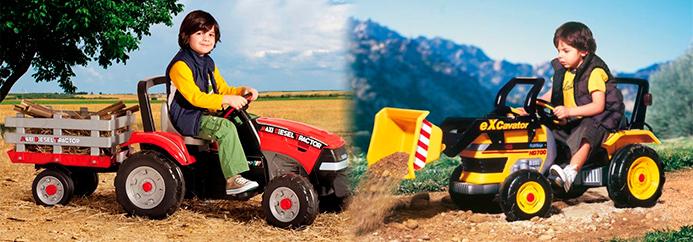 трактор Peg-Perego