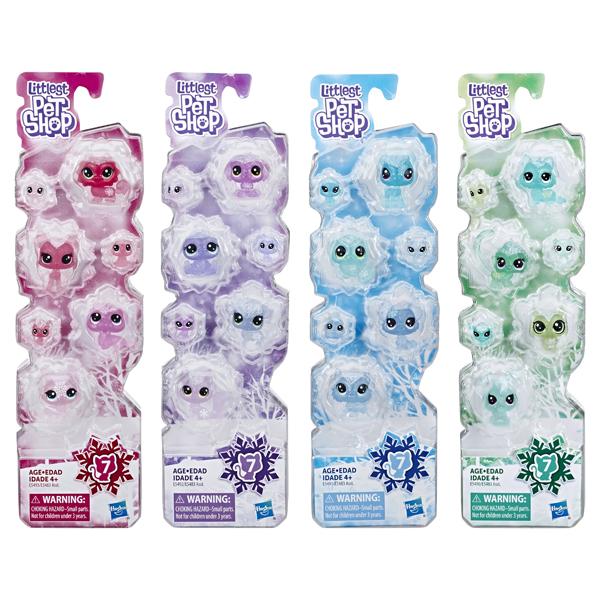 Hasbro Littlest Pet Shop E5483 Игровой набор 7 петов Холодное царство