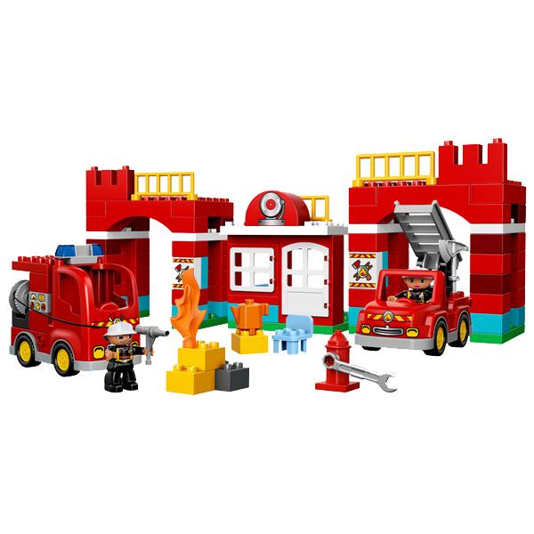 Lego Duplo 10593 Лего Дупло Пожарная станция общий вид набора
