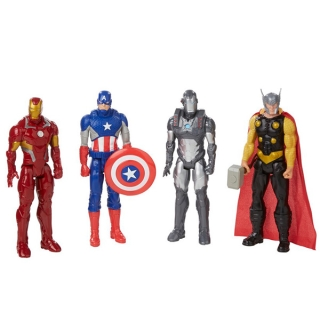 Avengers B6660 Фигурки Мстителей из фильма Раскол 30см в ассортименте Титаны
