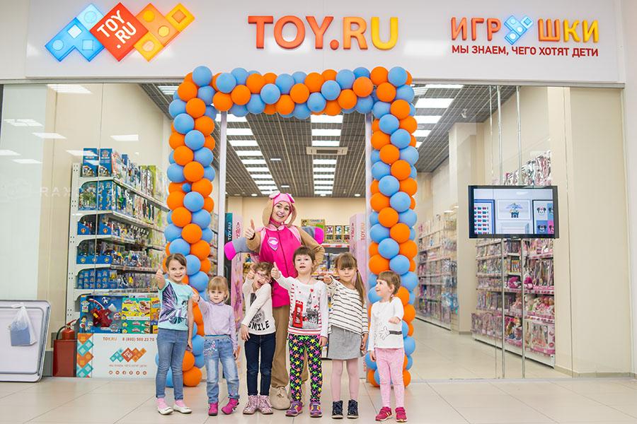 новый магазин TOY.RU в ТРК Мегаполис