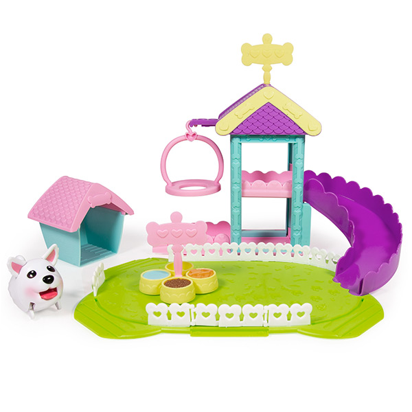 Chubby Puppies 56702 Щенки Игровой набор - Парк развлечений