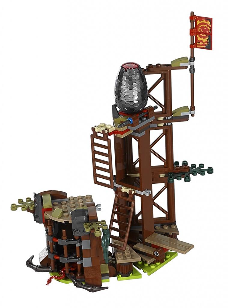 LEGO Ninjago 70626 Лего Ниндзяго Железные удары судьбы