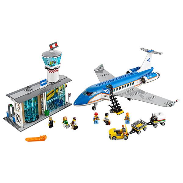 Lego City 60104 Лего Сити Пассажирский терминал аэропорта