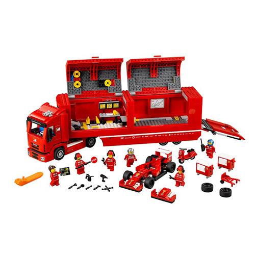 Конструктор Lego Speed Champions 75913 Лего Чемпионс Феррари F14 и грузовик Skuderia