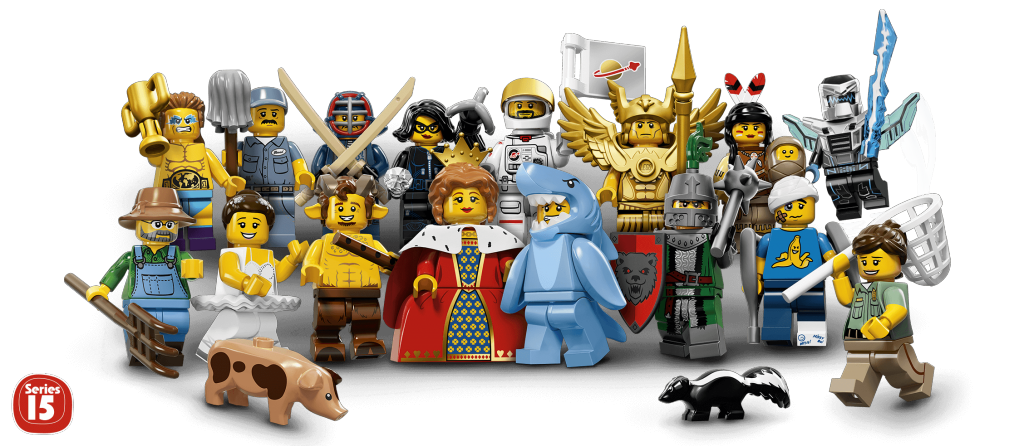Минифигурки Лего Серия 15