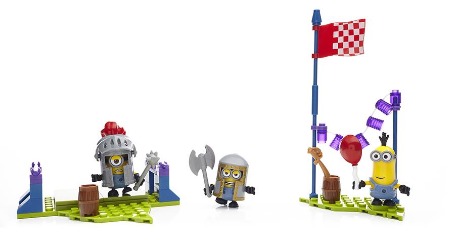 Mattel Mega Bloks DPG69 Мега Блокс Миньоны: набор конструктора с фигурками
