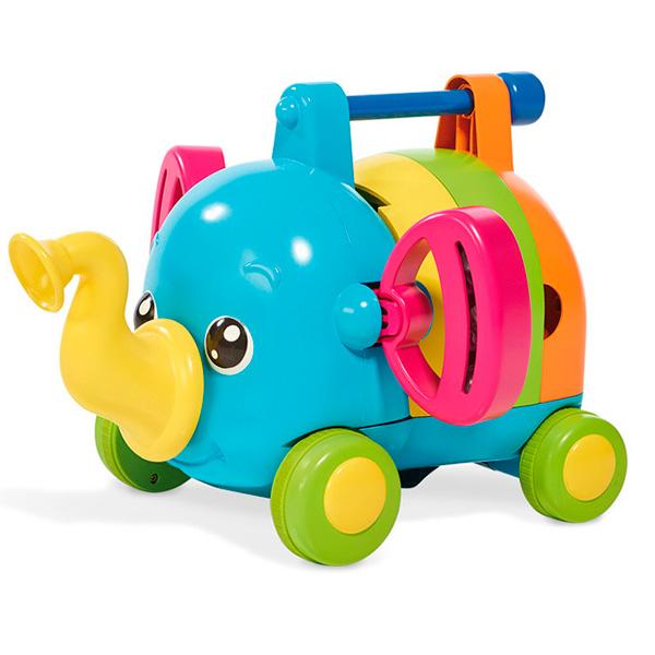 TOMY PlasticToys T72377 Томи Развивающие игрушки Слоненок-оркестр