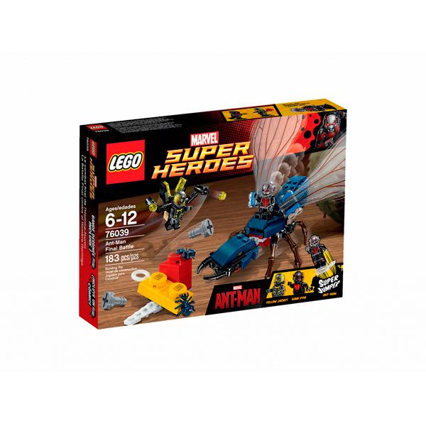 Коробка набора Lego Marvel 76039 Лего Марвел Человек Муравей
