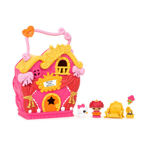 Игровой набор Lalaloopsy Tinies 534310 Малютки Домик принцессы