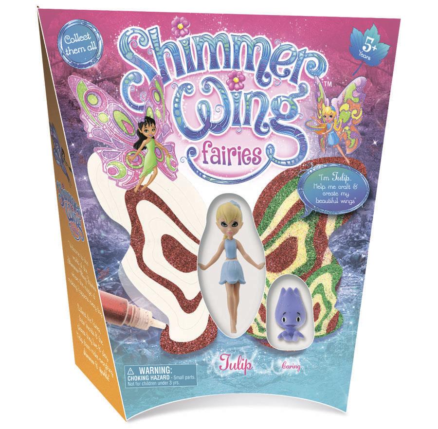 Кукла Фея Тюльпан Shimmer Wing упаковка