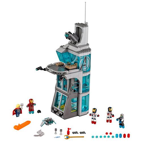 Конструктор Lego Super Heroes 76038 Лего Супер Герои Нападение на башню Мстителей