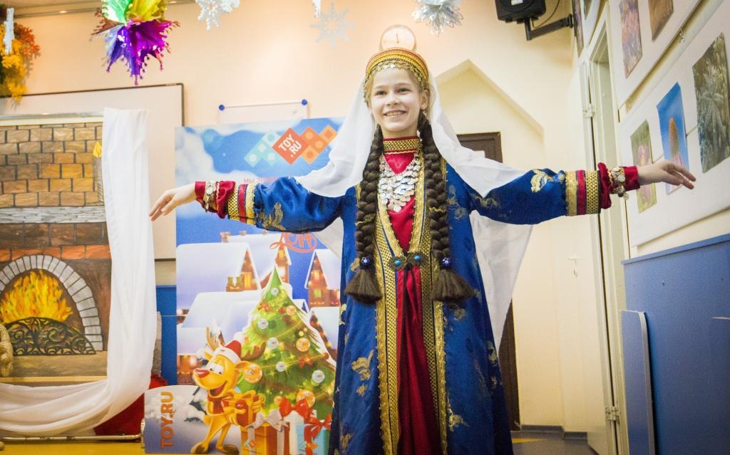Новогоднее представление для детей с особенностями развития при поддержке TOY.RU