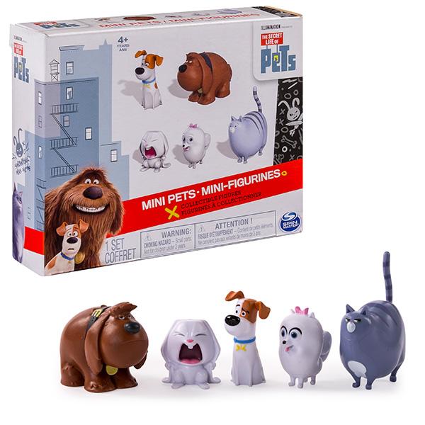 Secret Life of Pets 72817 Тайная жизнь домашних животных Набор из 5 мини-фигурок