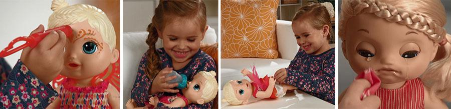 Новые куклы Baby Alive
